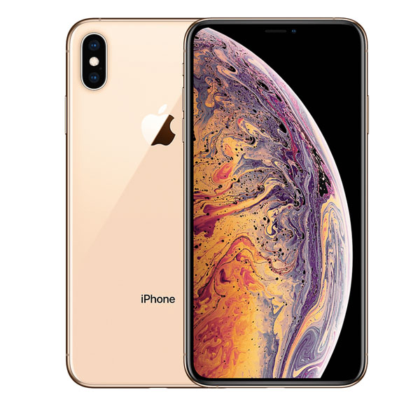 Apple iPhone Xs 256GB Smartphone, Gold (MT9K2AE/A)