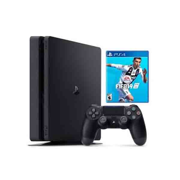 SONY PS4 GAME CONSOLE / 1TB  HDD,SLIM + FIFA 19 (PS4/1TBSL-FIFA19)