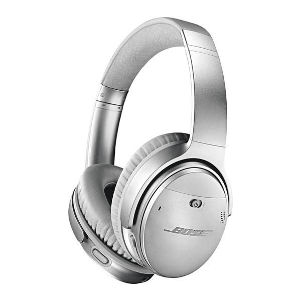 Bose QuietComfort 35 Wireless Headphones II, Silver (BOSE-QC35II-SL-EC)