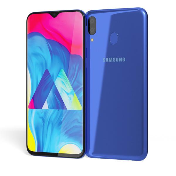 Samsung Galaxy M20 Dual SIM Ocean Blue 32GB 3GB RAM 4G LTE (M20-BLU-EC)