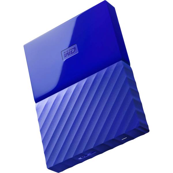 WESTERN DIGITAL MY PASSPORT 1TB-BLUE (WDBYNN0010BBL-WESN)