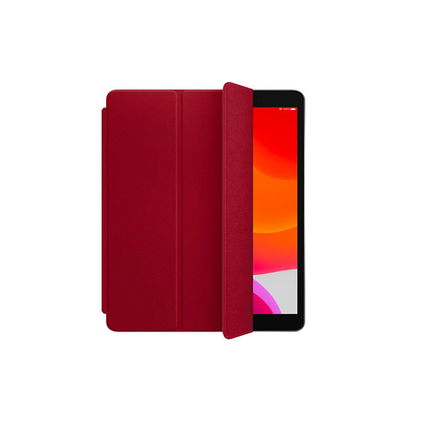 Apple Leather Smart Cover for 10.5_inch iPad Pro - (PRODUCT) RED (MR5G2ZM/A)