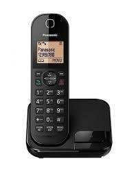 Panasonic KX-TGC410UE1 Cordless Phone - Black