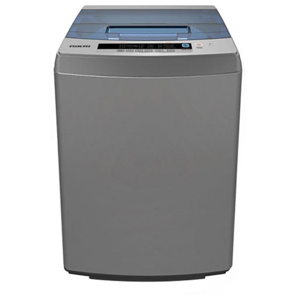 Nikai  6 Kg Top Load Fully Automatic Washing Machine Silver (NWM650TN6)