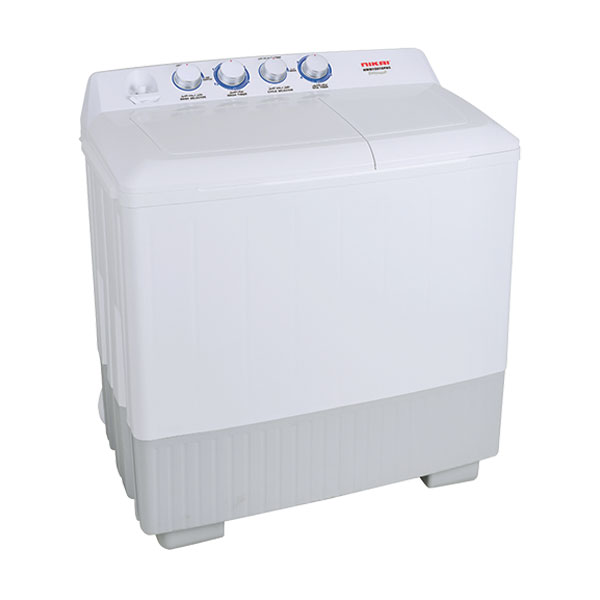 Nikai Semi Automatic Twin Tub Washing Machine (NWM1501SPN5)