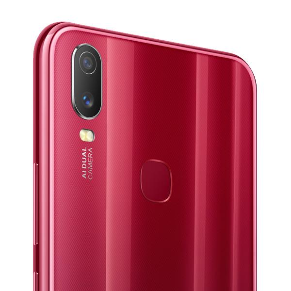 VIVO SMART PHONES Y11, 3GBRAM, 32GB, DUAL SIM, 4G LTE, AGATE RED (VIVOY11-32GB-AR)