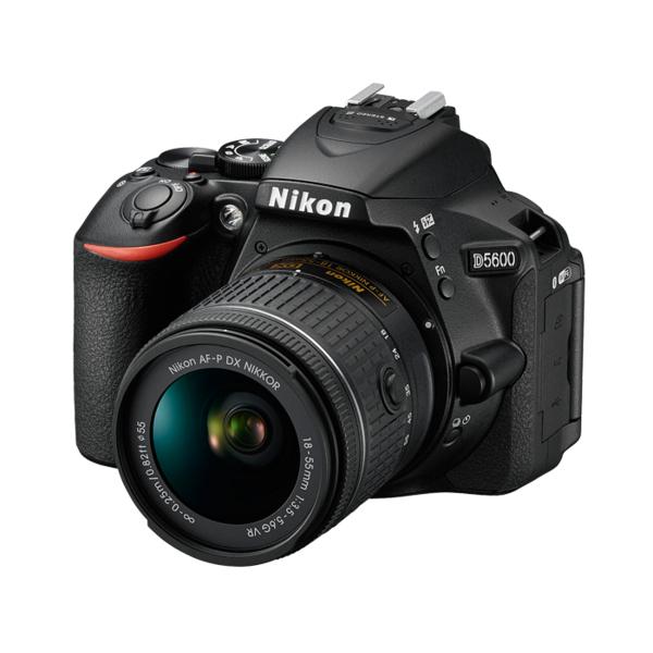 Nikon D5600 DSLR Camera 18-55MM VR - Black (D5600BK)