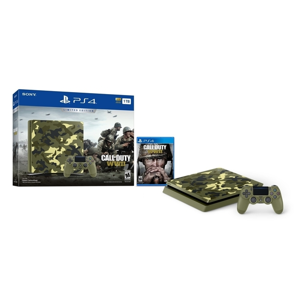 Sony PS4 1TB Gaming Console  - WORLD WAR 2 (PS4/1TB-WW2E)
