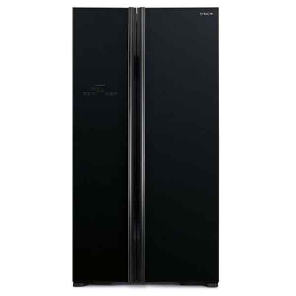 Hitachi 700Ltr Side By Side Refrigerator (RS700PUK2GBK)
