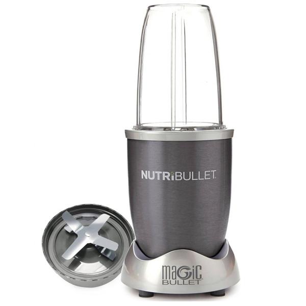 NutriBullet 5pc Set Grey - 600w (NBR-0512)
