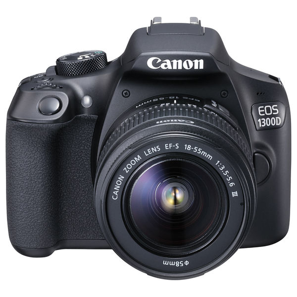 Canon EOS1300D with 18-55mm Lens