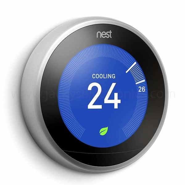 NEST LEARNING THERMOSTAT 3RD GENERATION -BLACK T3016US (NEST-T3016US)