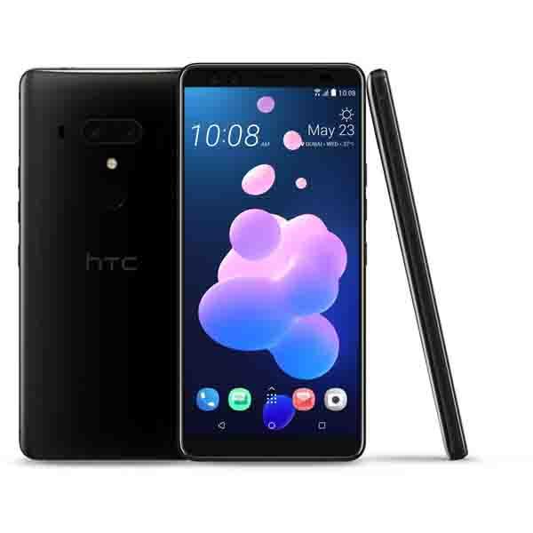 HTC  U12+,6'',128GB,BLACK (99HANY034-00)