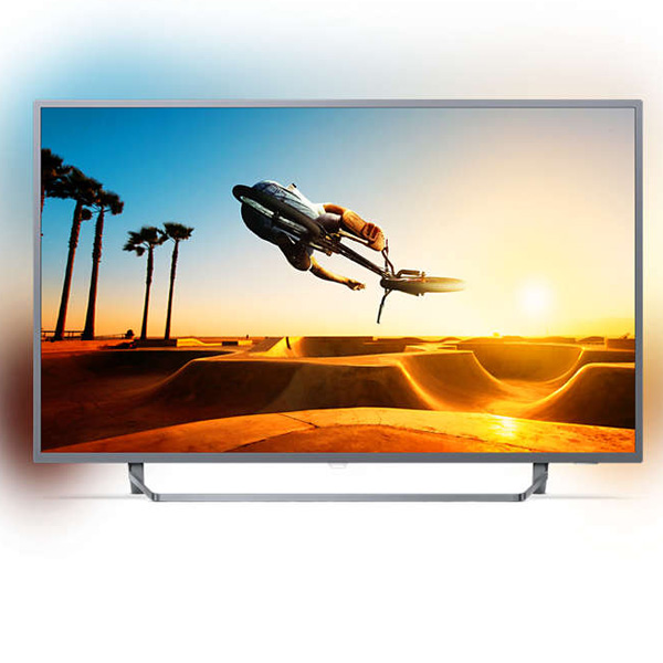 """PHILIPS 50"""" UHD SMART LED TELEVISION WITH ANDROID (50PUT7303)"""