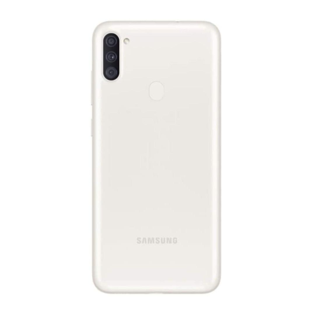 "Samsung Galaxy A11 6.4"" Memory 32 GB, RAM 2 GB White SMA115FZWDXSGW-AA"