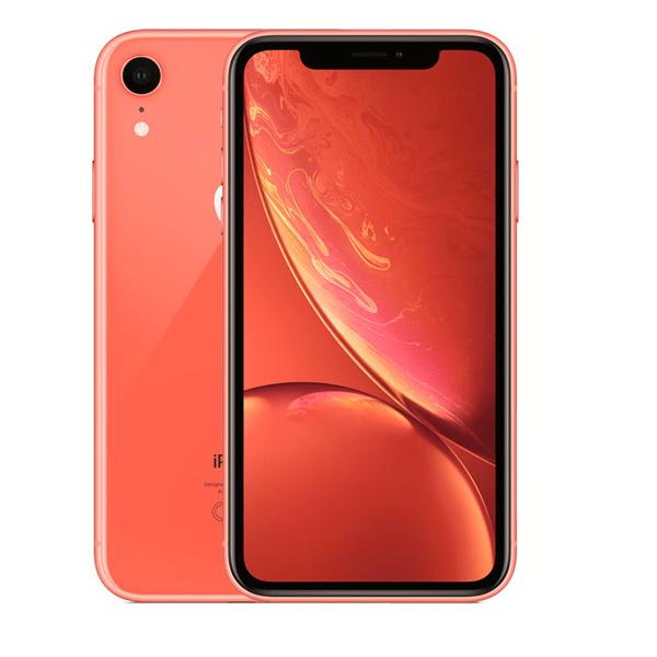 Apple iPhone XR 256GB Smartphone, Coral (MRYP2-EC)