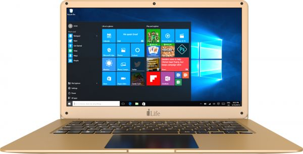 ILIFE NB (ZEDAIRH6-GD) PROC INTEL CELERON , RAM 6GB, HDD 500GB ,14'' FHD SCREEN, WIN10