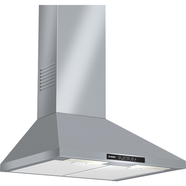Bosch Serie 2 Chimney extractor hood brushed steel (DWW06W450B)