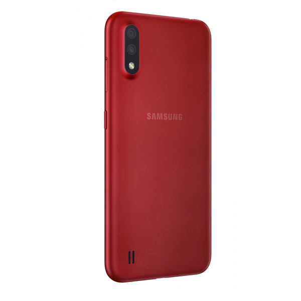 """Samsung Galaxy A01 5.7"""", Dual Sim, 4G LTE, 2GB, 16GB Smartphone Red (SMA015F-16GBRD)"""
