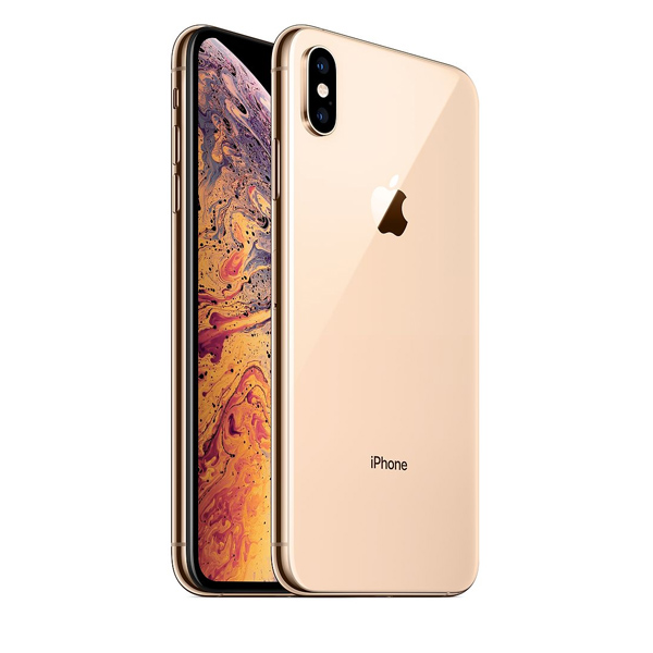 Apple iPhone Xs Max 256GB Smartphone, Gold (​IPXSM-256GBGD-EC) Facetime