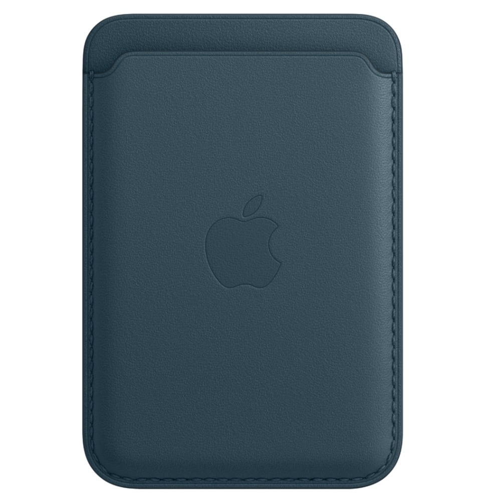 iPhone Leather Wallet with MagSafe Baltic Blue MHLQ3ZE/A