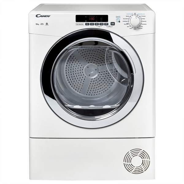 Candy 8 Kg Condenser Dryer, White (GVSC10DCG-80)