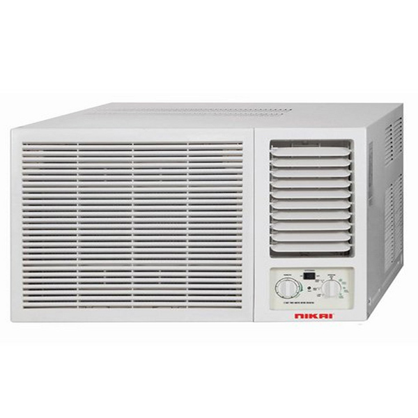 Nikai 1.5 Tons Window AC 13990 BTU White (NWAC18038E3)