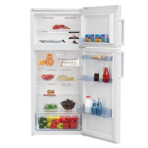 Beko 390 Liter Top Mount Refrigerator, No Frost, Dual Cooling Technology (RDNE390K21W)