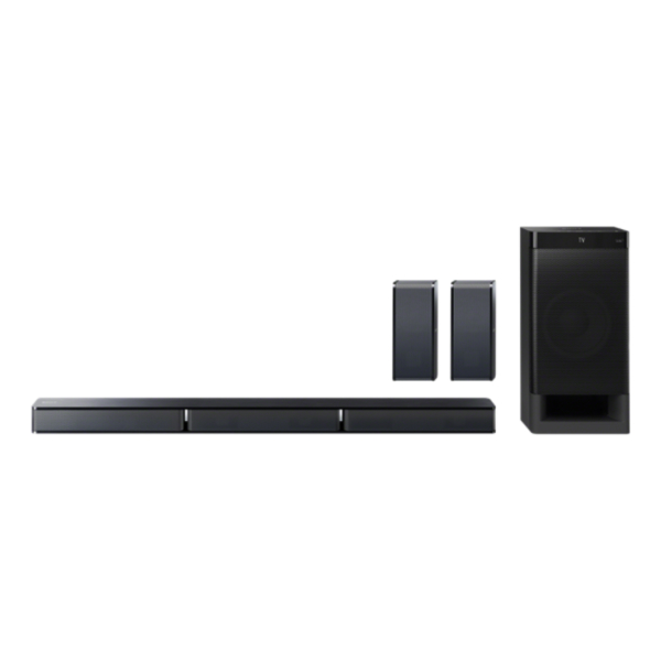 SONY 5.1CH HOME THEATER SYSTEM WITH BLUETOOTH (HTRT3)