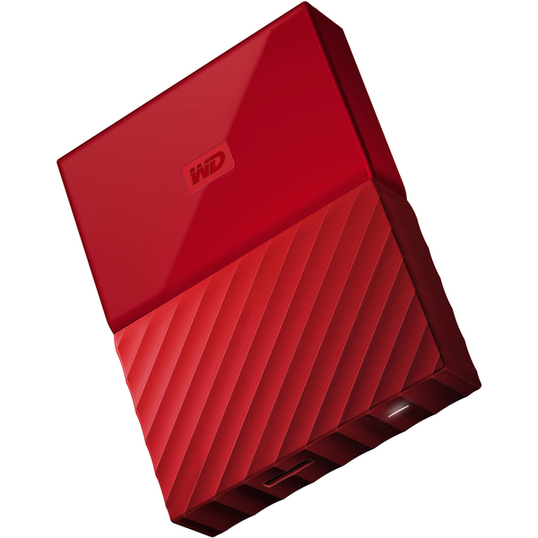 Western Digital My Passport 2TB Portable Hard Drive, Red (WDBYFT0020BRD-WESN)
