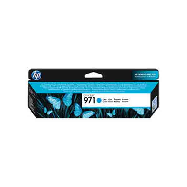 HP 971 Cyan Original Ink Cartridge CN622AE