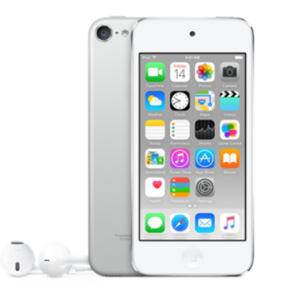 Apple iPod Touch 32GB, Silver (MKHX2AB/A)