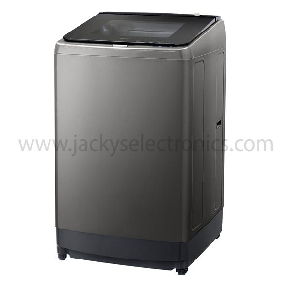 Hitachi 14Kg Auto Washing Machine With Pump Silver (SFP160ZCV3CGXSL)
