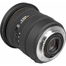 Sigma 10-20mm f/3.5 EX DC HSM Lens For Nikon Black