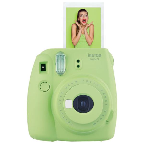 - Fujifilm Instax Mini 9 - Green (INSTAXMINI9-GN)