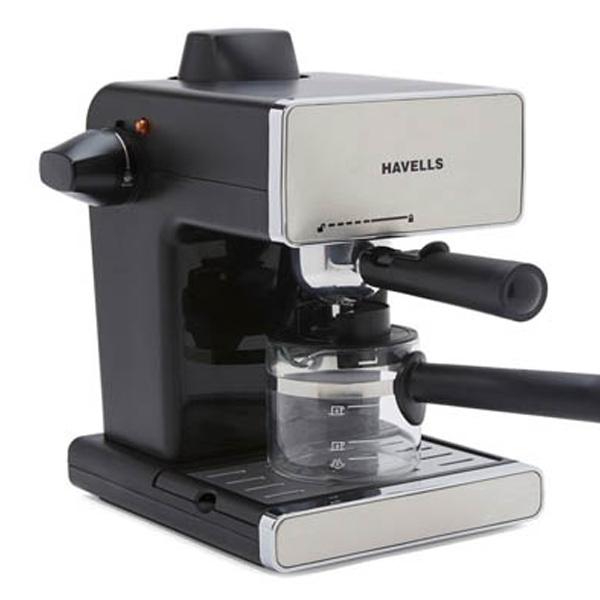Havells Donato Espresso Stainless Steel Coffee Maker 900W (Donato3.5B)