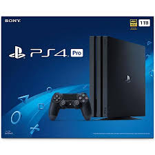 Sony PlayStation 4 Pro 1TB Console-EXPORT