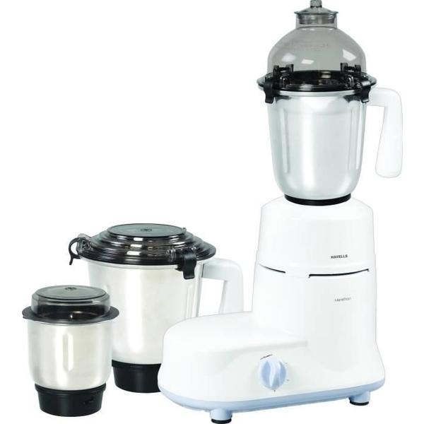 Havells Marathon 750W 3 Jars Mixer Grinder - White (MARATHON750W)
