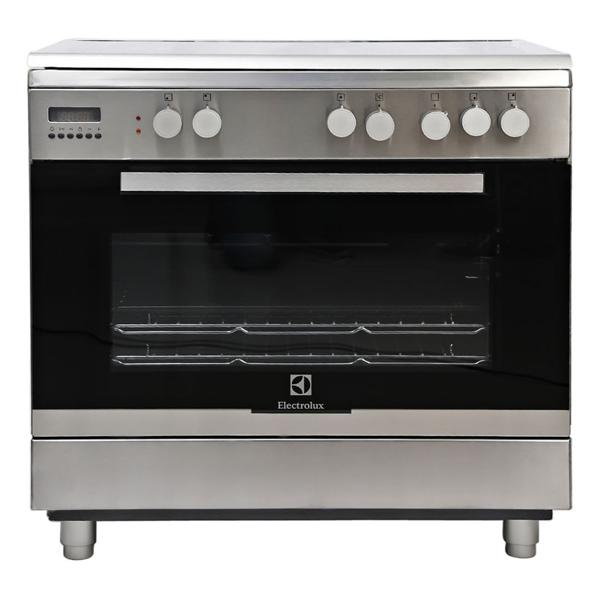 Electrolux Free Standing Gas Cooker, Silver - EKK945AAOX