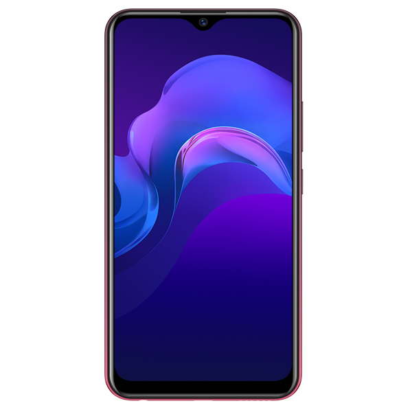 VIVO SMART PHONES Y12, 3GBRAM, 64GB, DUAL SIM, 4G LTE, BURGUNDY RED (VIVOY12-64GB-BR)