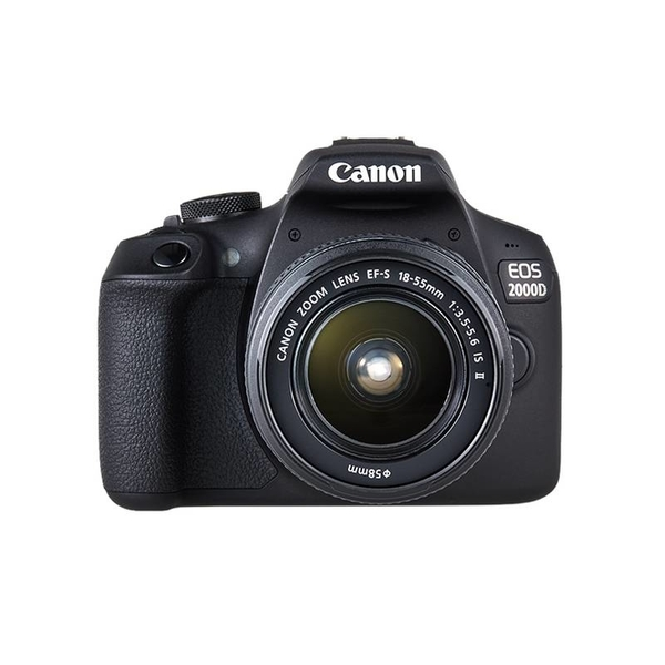 Canon EOS2000D 18-55 IS  DSLR Camera (EOS2000D)