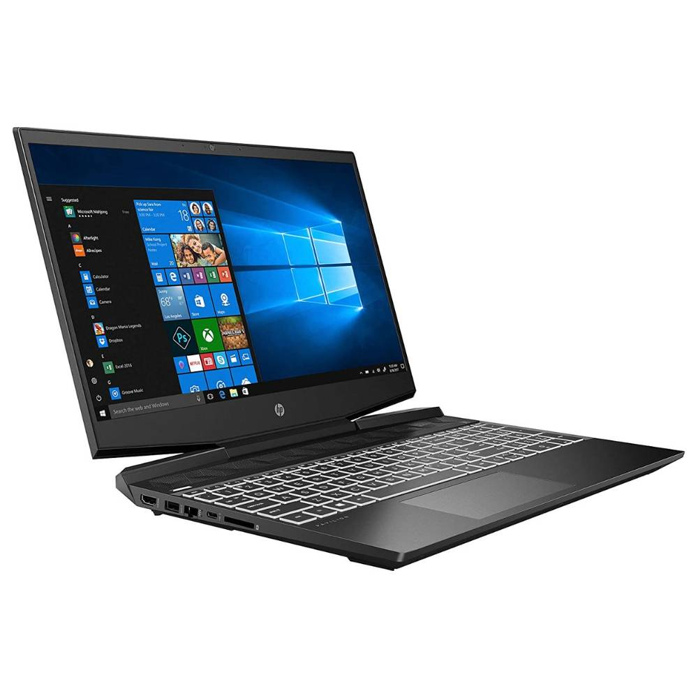 Hp Pavilion Gaming Laptop Core i7-10th Gen RAM 16GB HDD 1TB+SSD 256GB Graphics 4GB Windows10 15-DK1001