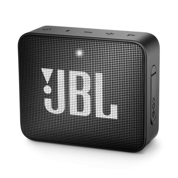 JBL GO 2 Portable Speaker (JBLGO2-BLK-EC)