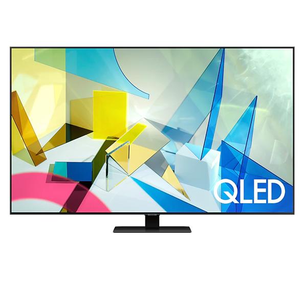 """Samsung 75""""Q80T QLED 4K Flat Smart TV (QA75Q80TAU)"""