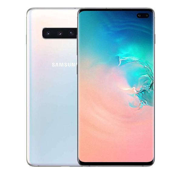 Samsung S10+ 1TB Octa Core 2.7GHz-2.3GHz-1.9GHz Ceramic White (SMG975FW-1TBW)