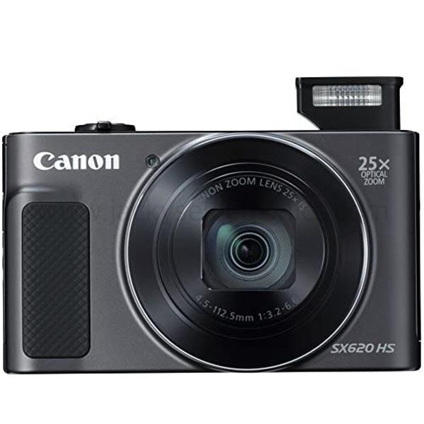 Canon PowerShot SX620 HS Digital Camera - Black  (PSSX620BK)
