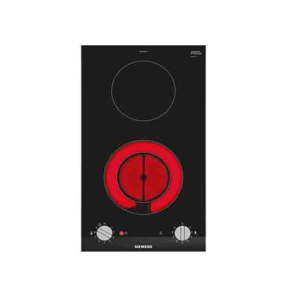 Siemens  iQ300 Domino Electric hob, Autarkic 30cm,  2 Zone ceramic, 1 dual zone, 9 Power Levels (ET375CFA1M)