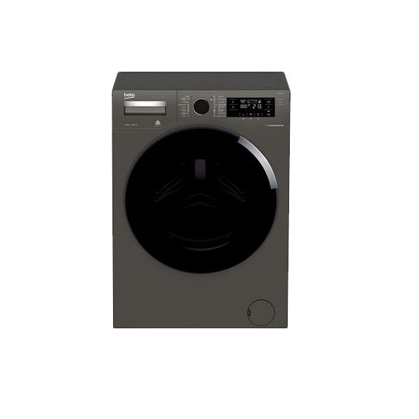 Beko Free Standing Washing Machine 9kg, 1400 RPM, 16 programs, 4-star energy rating, Manhattan Gray Color (WTV9745XM)