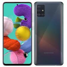Samsung Galaxy A51 6.5inch 6GB 128GB LTE Smartphone, Black SMA515FW-128GBBE