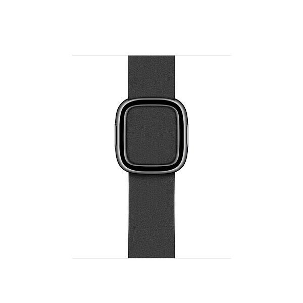 Apple 40mm Black Modern Buckle - Small (MWRF2ZE/A)